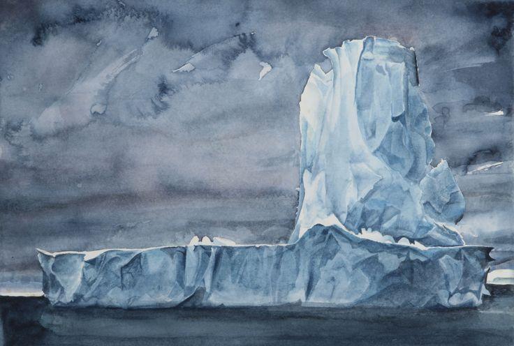 Amanda Robins, iceberg 2, 2014