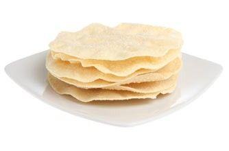 Low calorie snacks - Two poppadums with salsa - goodtoknow
