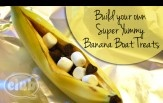 Campfire Banana Boats - The Perfect (Indoor) Party Treat | Tween Crafts - Connecting Mom and Daughter through crafting