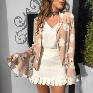 Compre Blazer Feminino e Paga Em Até 6x Sem Juros - Moda Feminina na loja Estação Store