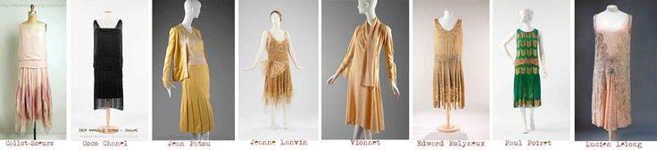 Платья самых модных дизайнеров 1920-х годов