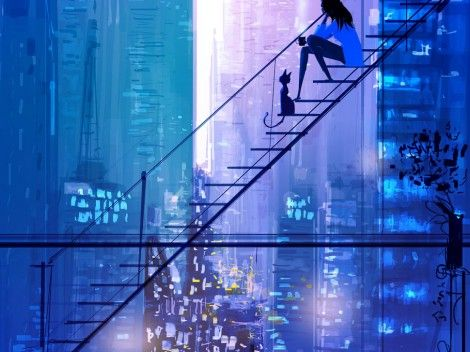Pascal Campion - beautiful illustrations Kind of remind me of 60's tourist art...