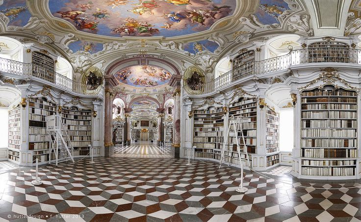 "https://flic.kr/p/gWnd4j | Admont Abbey library | Admont Abbey (Stift Admont): Benedictine monastery located on the Enns River in the town of Admont, Austria. It contains the largest monastic library in the world. the Admont library has been called the ""eighth wonder of the world""."