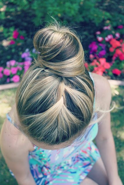 \\\ Michaela Noelle Designs: {Tutorial}  French Braid Bun \\\