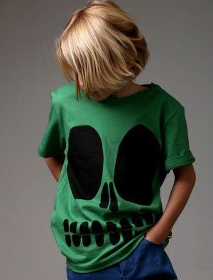 Buy Littlehorn Skull Face Tee