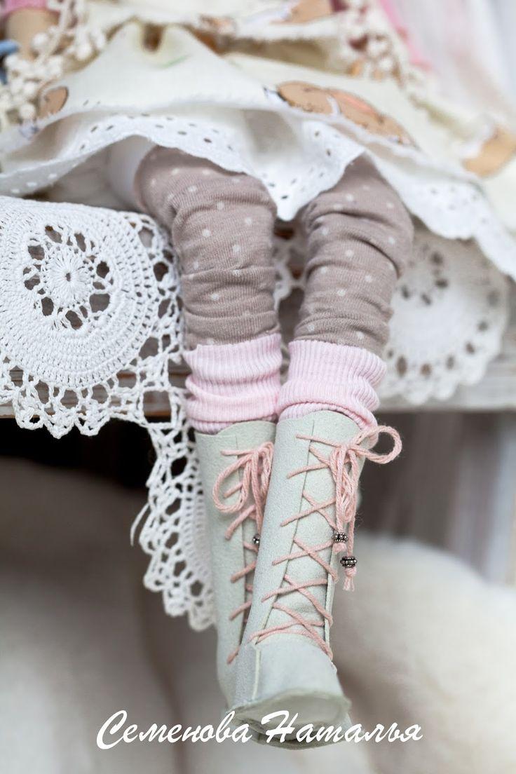 Блог о шитье тряпичной куклы тильда