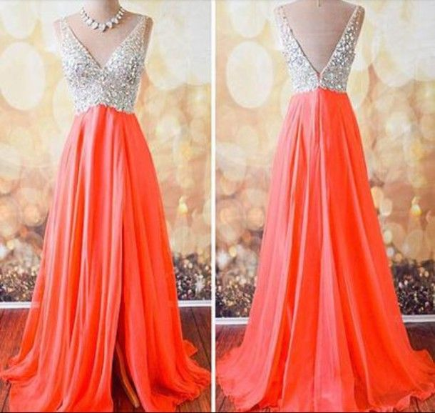 V-Neck prom dresses,Custom prom dress,Long Prom Dresses,Evening Dresses,Formal Dresses,prom dresses,15051332