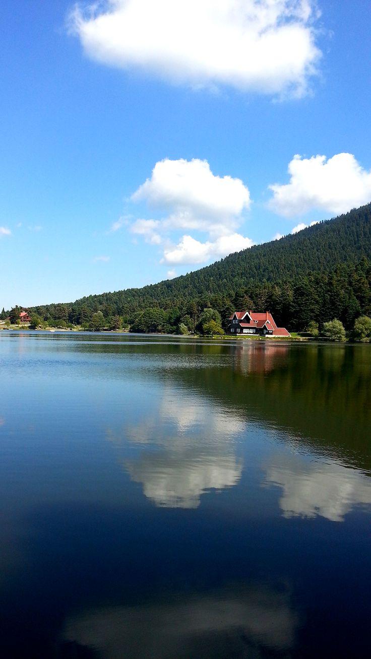 Abant, Bolu, Turkey  #lake #landscape