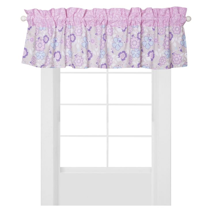 Trend Lab Window Valence - Grace - Lavender