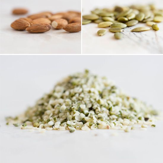 Almonds, Pepitas and Hemp Seed