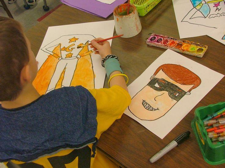 25+ best ideas about Superhero art projects on Pinterest | Super ...