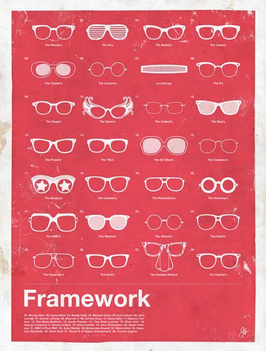 Lunettes Rétro par Moxy Creative. Venez découvrir certains de ces modèles chez Gweleo, opticien en ligne