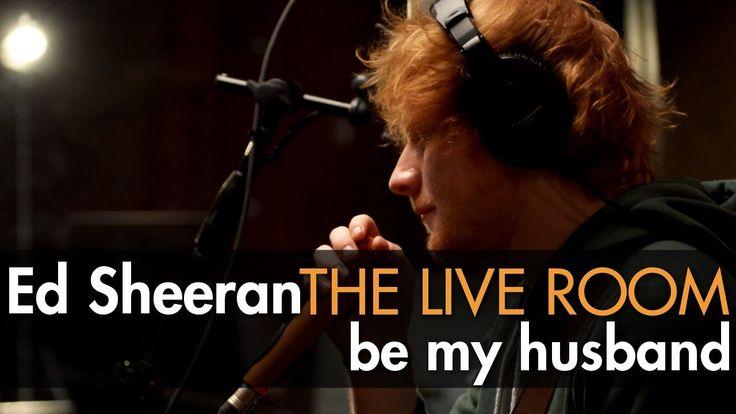 "Ed Sheeran - ""Be My Husband"" (Nina Simone cover) captured in The Live Room <3<3<3"