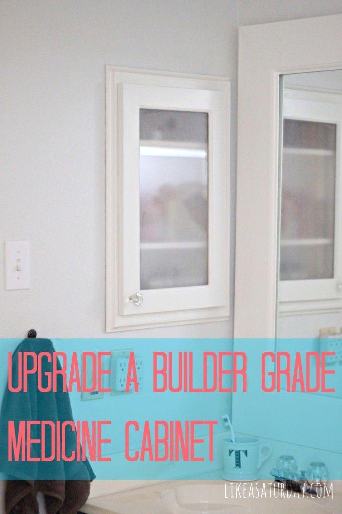 Update a Builder Grade Medicine Cabinet