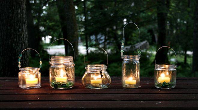Lampada Con Barattolo Di Vetro : Riciclo creativo con i barattoli di vetro pagina foto gallery