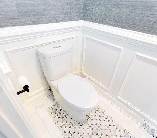 Top 70 Best Chair Rail Ideas Molding Trim Interior Designs Bathroom Chair Mold In Bathroom Moldings And Trim