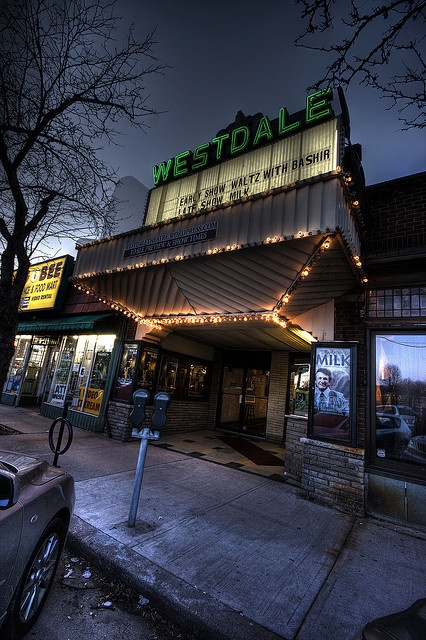The Westdale Theatre, the only single screen movie theatre in Hamilton