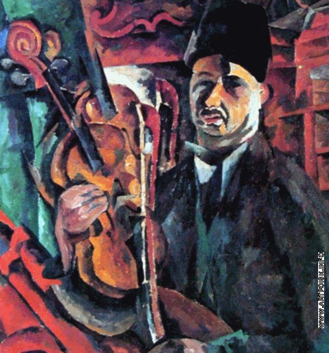 http://artpoisk.info/artist/lentulov_aristarh_vasil_evich_1882/avtoportret_so_skripkoy/ Автопортрет со скрипкой. 1919 г.