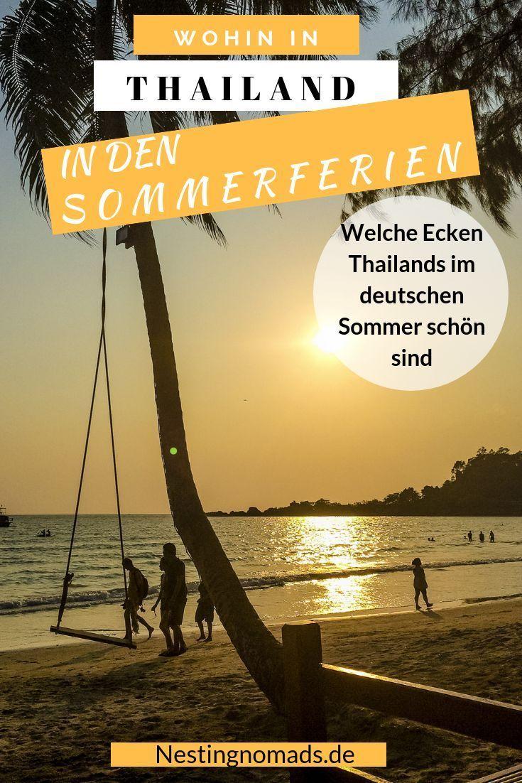 Sommerferien in Deutschland ist die beste Reisezeit für die Ecke Koh Samui, Koh …   – ❤️ Thailand