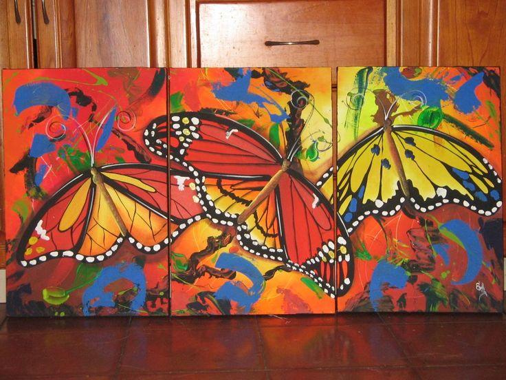 pinturas acrilicas para cuadros sobre tela