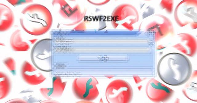 RSWF2EXE | Программа для конвертации SWF-файлов (Flash-роликов, Flash-игр) в исполняемые EXE-файлы