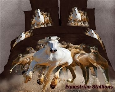 horse bedding sets for teens | ... Horse Lovers Duvet Cover Set|Teen Girls Bedding|Duvet Cover Sets