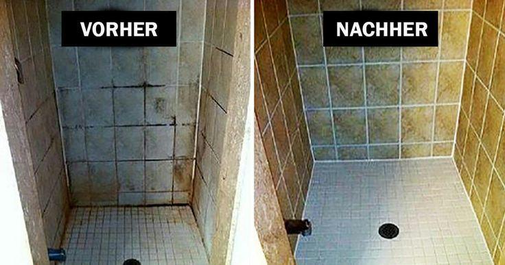 Simpler Trick zum Putzen vom Badezimmer, mit Haush…