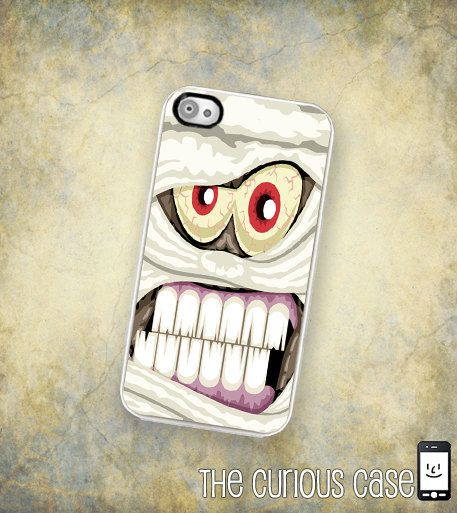iPhone Case Halloween Mummy  / Hard Case For by TheCuriousCaseLLC