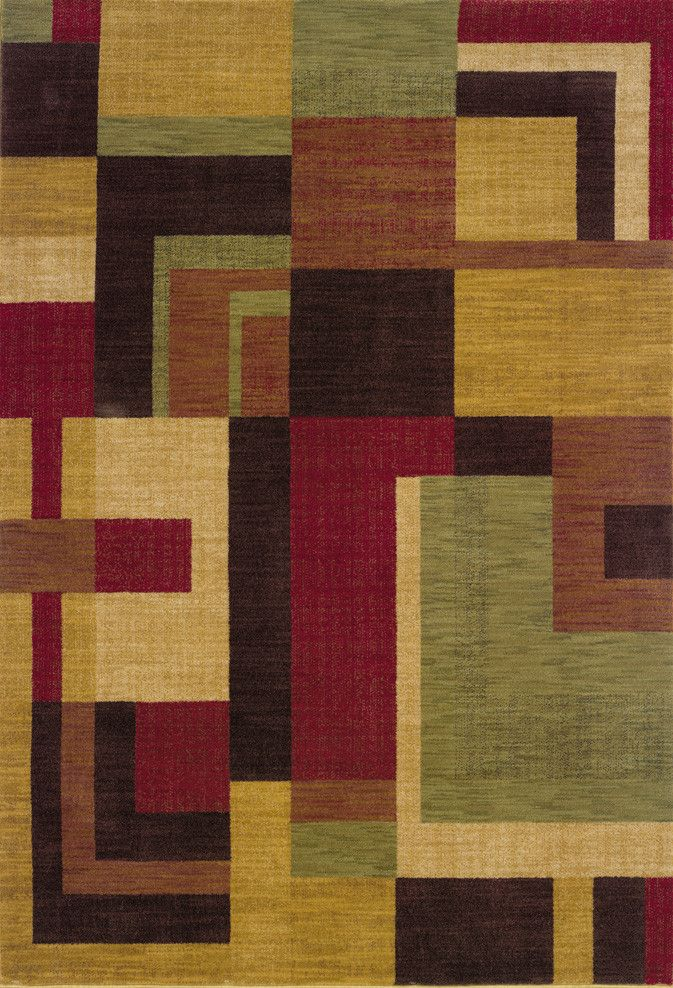Allure 9A Red/ Gold Rug