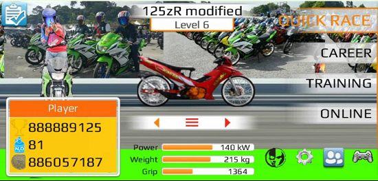 Download Drag Bike Malaysia Mod Apk 201m by Budak Ciku ...