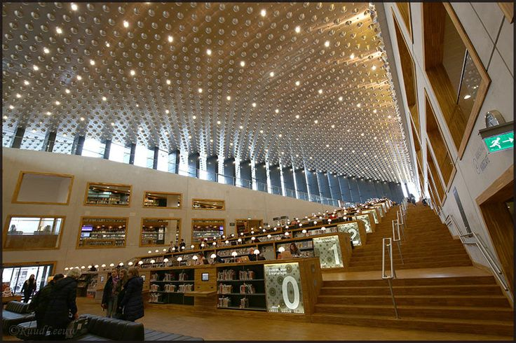 https://flic.kr/p/NyyL7d | Libraries - Bibliotheek Eemland (Amersfoort, Netherlands) | This library is very modern and has much to offer besides books (lectures, debates, expositions).