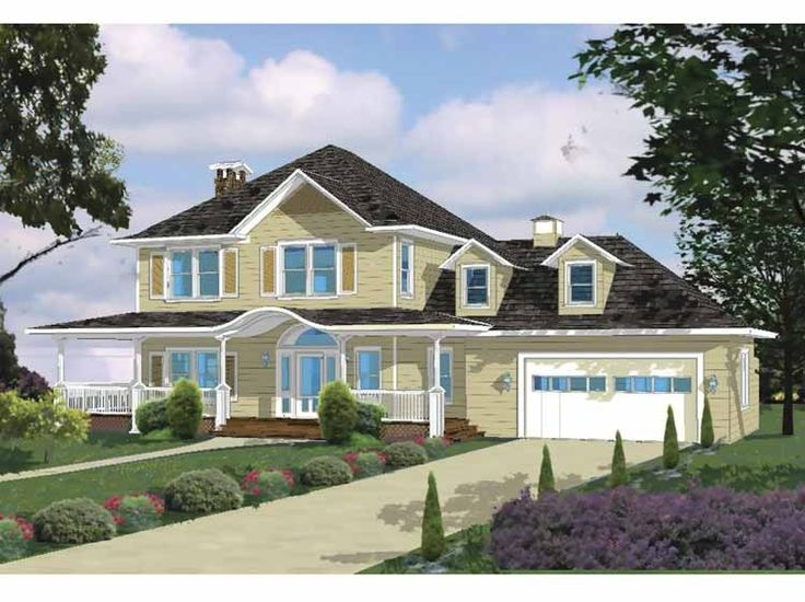 Eplans Ranch House Plan   Classic Main Street   2417 Square Feet And 3  Bedrooms From
