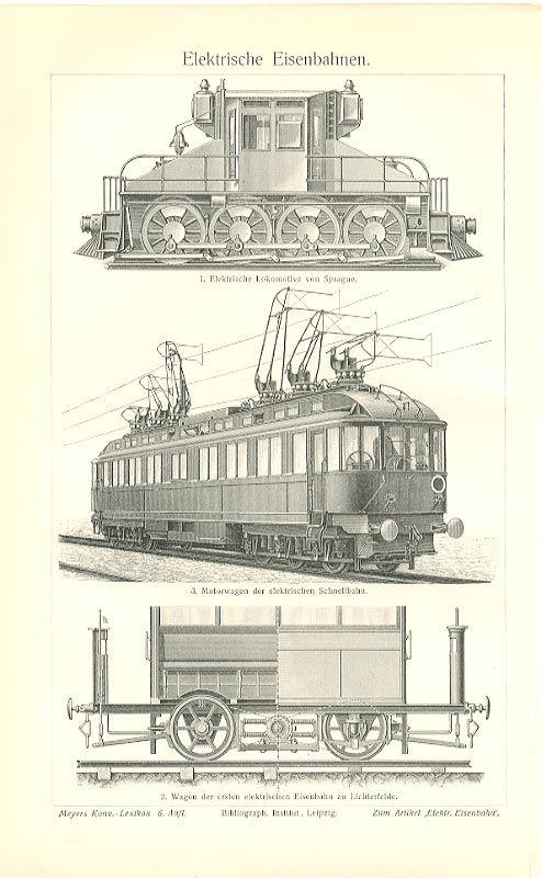 Elektrische Anlagen Entladung Eisenbahn Originale Txz - Billerantik (electric trains)