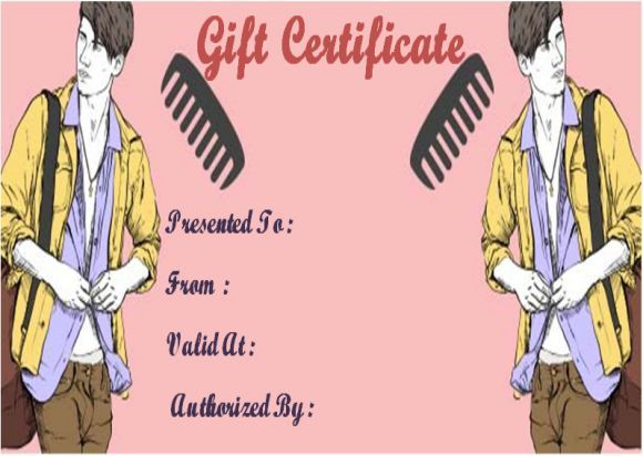 Gift Certificates Samples Amazing Free Printable Beauty Salon Gift Certificates Template  Salon Gift .