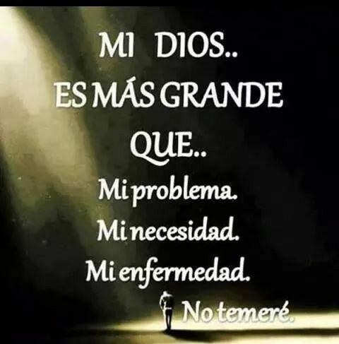 Mi Dios es Grande!