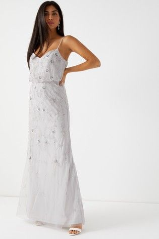 d742378e Lipsy Ava Sequin Embellished Maxi Dress | Future Wedding? Maybe ...
