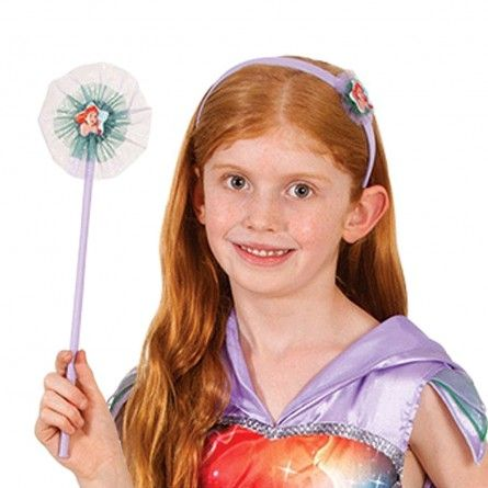 Ariel Mermaid Headband & Wand