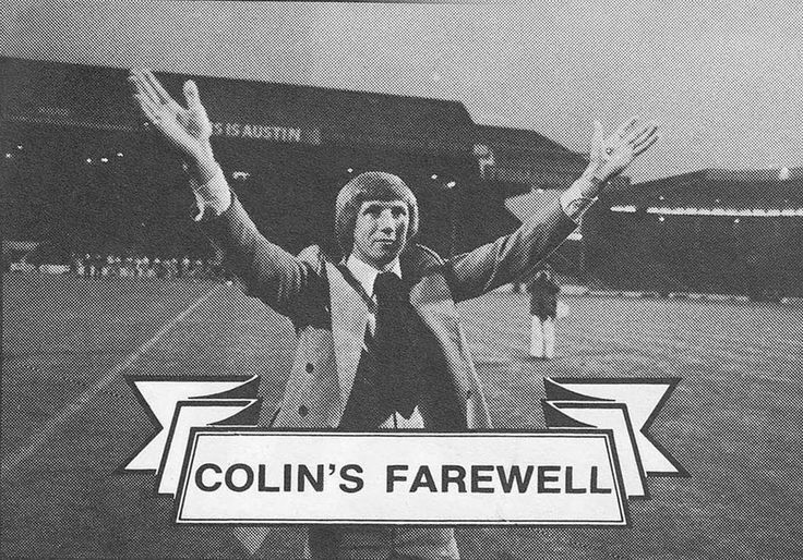 11th September 1979. Manchester City legend Colin Bell waves farewell to Maine Road on a night Manchester played Merseyside for his Testimonial.