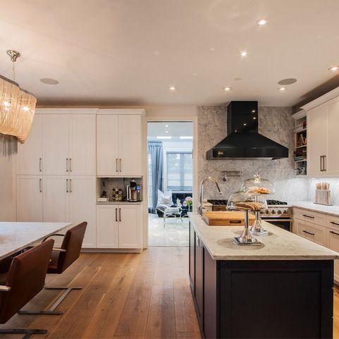 Brooklyn brownstone kitchen design ideas pictures for Brownstone kitchen ideas