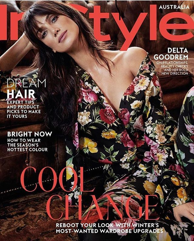 #deltagoodrem @instylemag May Issue Cover #hair @michael_brennan #makeup @nonismithmakeup As styled by Fashion Director @msgreenygreen featuring @deltagoodrem #instylemagazine #theartistgroup
