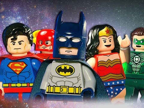 Lego Justice League - YouTube