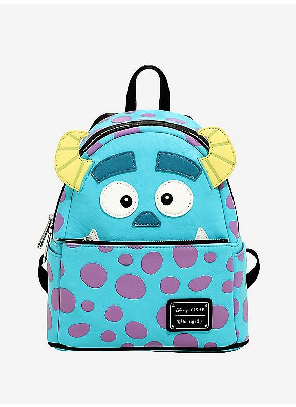 Hot Topic   Loungefly Disney Pixar Monsters Inc. Sully Character Backpack 7afbcdfad822b