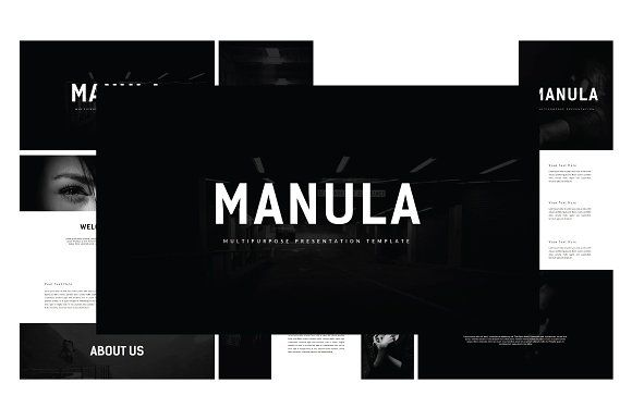 Manula Multipurpose Presentation by thebomber on @creativemarket Professional creative design Presentation Template Slides. Creative, modern, clean, minimalist, trendy, marketing Promotion Promo Posts for Business, Proposal, Marketing, Plan, Agency, Startups, Portfolio Design Layout.