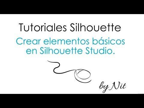 Crear elementos básicos en Silhouette Studio (Español) - Planeta Silhouette