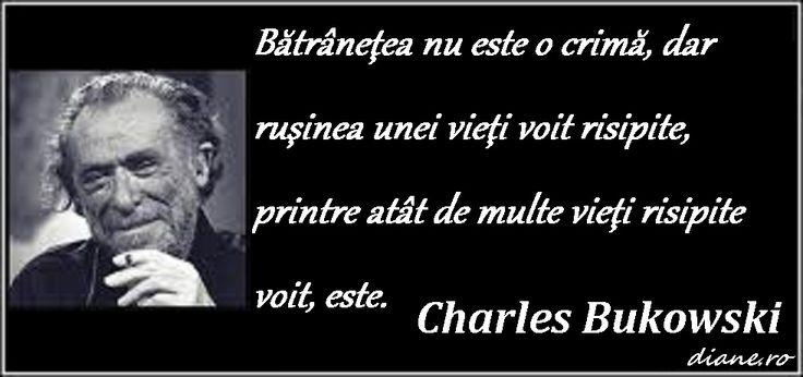 Fii bun - Un poem de Charles Bukowski