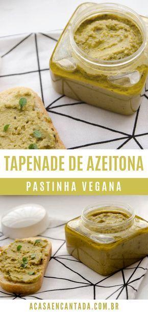 Tapenade de aceituna   – Receitas vegetarianas