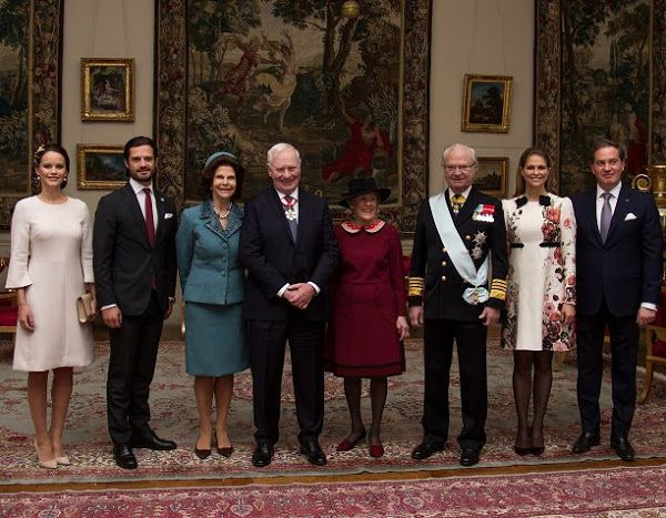 Governor General David Johnston and his wife Sharon Johnston Sweden Visit