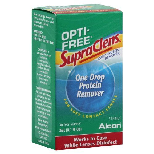 #care Keeps soft lenses feeling like new longer. For soft and gas permeable contact lenses. 30 day supply. Sterile. Works overnight while lenses #disinfect. Just...