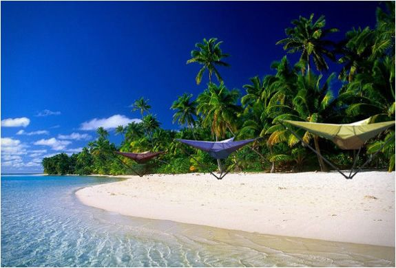 Tentsile Hanging Tent: Beach Wallpaper, Cooking Islands, South Pacific, Holiday Destinations, Costa Rica, Tropical Paradise, Places, Tropical Beach, New Zealand