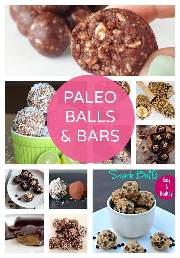 Paleo Balls & Bars   Sugar Free Glow #paleo